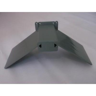 Kŕmny žľab pre hydinu galvanizovaný 50x12 cm